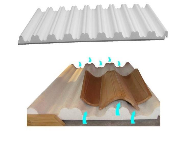 Pannello termoisolante in EPS per coperture
