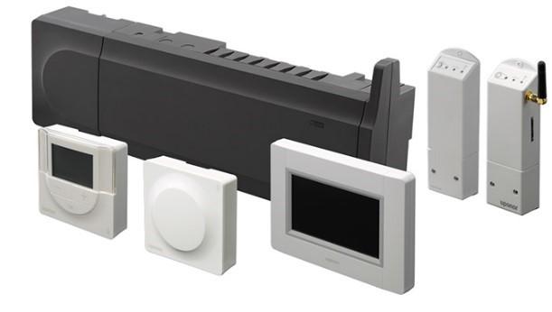 Sistemi di controllo per il riscaldamento e raffrescamento radiante
