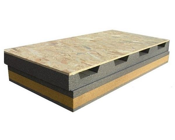 Pannello isolante per tetti ventilati