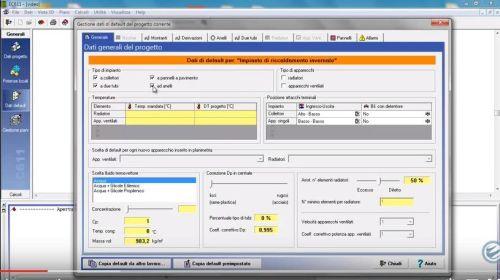 EC711: software impianti termici, apparecchi e tubazioni