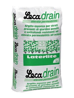 LecaDrain, strato drenante per giardini pensili