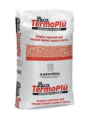 Leca Termopiù - argilla espansa anti-umidità per sottofondi contro terra