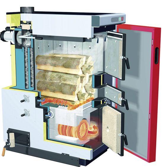 Caldaie a legna S3 TURBO: soluzioni HI-TECH a basse emissioni