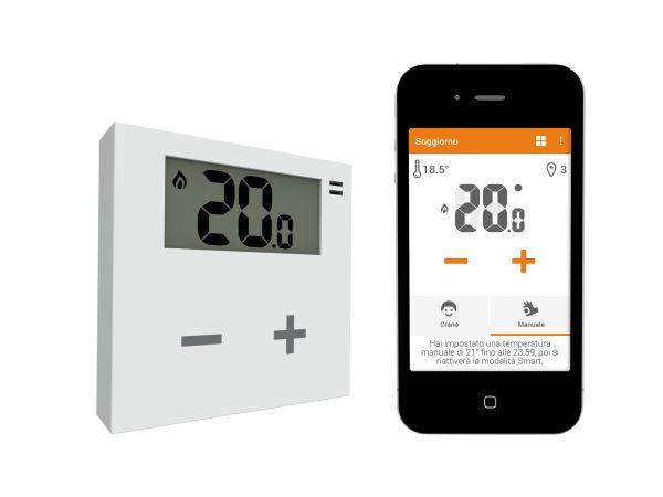 Termostato Rialto per la gestione smart del calore