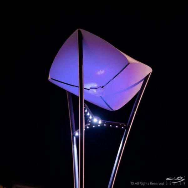 Lampioni a led: risparmio energetico e arredo urbano