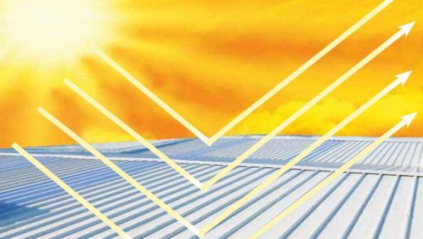 Rivestimento termoceramico isolante ad altissima riflettanza per tetti e coperture