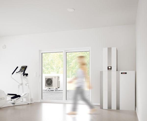 Ventilazione meccanica controllata per il massimo comfort