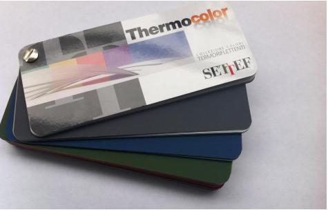 Colori termoriflettenti Thermocolor per risolvere i problemi di surriscaldamento