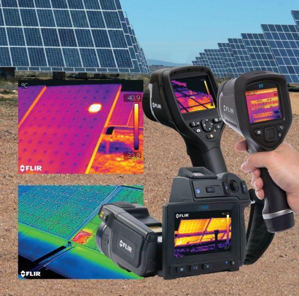 Termocamere per l'ispezione dei pannelli fotovoltaici
