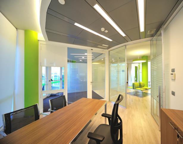 Proter Vega Office controsoffitto radiante