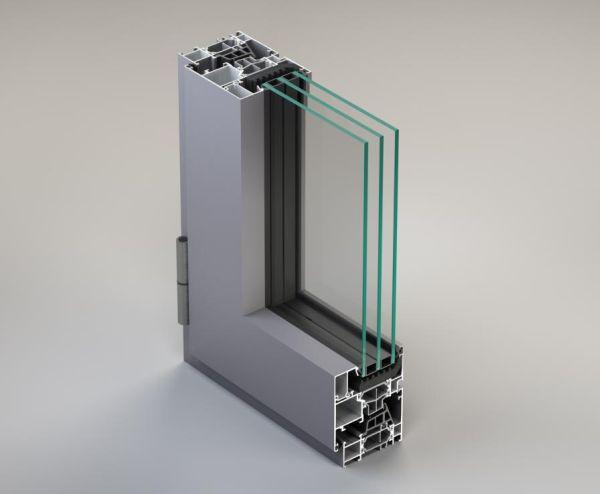 NC 65 STH HES: Sistema per finestre e porte