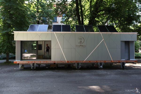 A Milano la casa efficiente e a zero consumo Biosphera 2.0