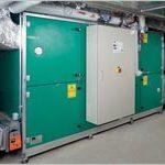 Sistema di ventilazione con recupero di calore ACCUBLOC