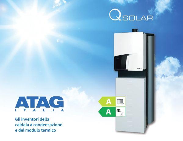 Modulo termico a condensazione ad integrazione solare