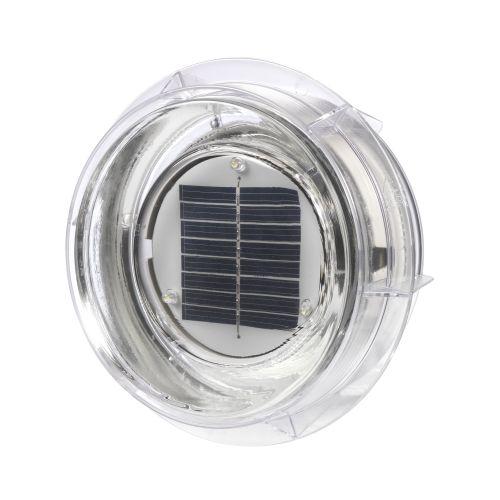 Mattoni fotovoltaici di vetro