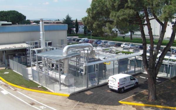Impianto di quadrigenerazione per lo stabilimento Coca Cola di Marcianise