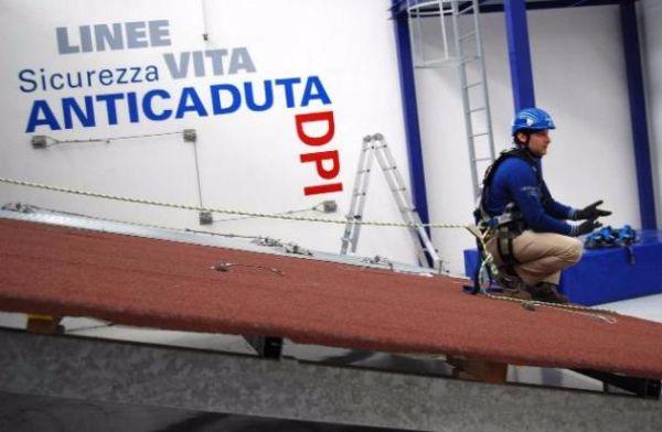 Massima sicurezza per gli operatori dell'edilizia e impiantistica