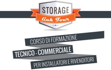 Al via le tappe autunnali dello Storage Link Tour