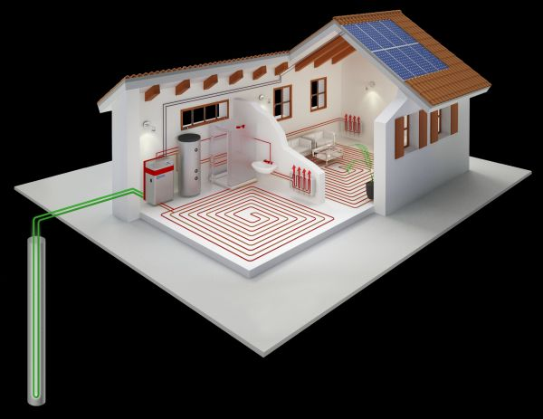 La pompa di calore che riduce l'estensione del campo sonde geotermico