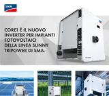 Scopri il nuovo inverter per impianti fotovoltaici Sunny Tripower CORE1 46