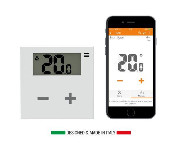 Con il termostato Rialto la programmazione del riscaldamento è smart
