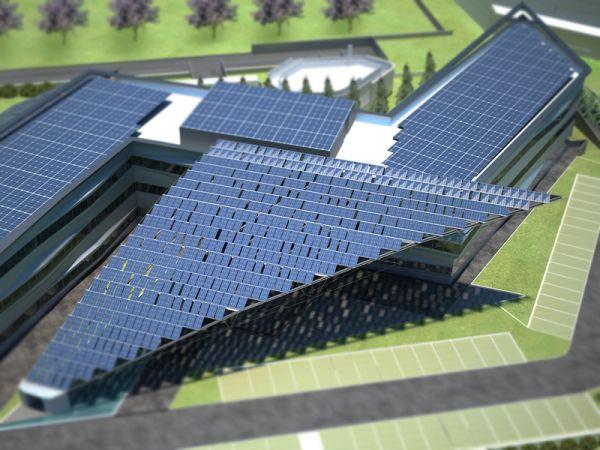 Energia fotovoltaica e geotermica per l'headquarters di Arval Italia