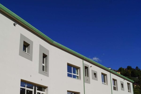 Soluzioni Laterlite per l'efficienza energetica del nuovo polo scolastico