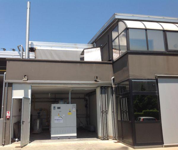 Impianto di cogenerazione per l'efficienza energetica di un'industria conciaria