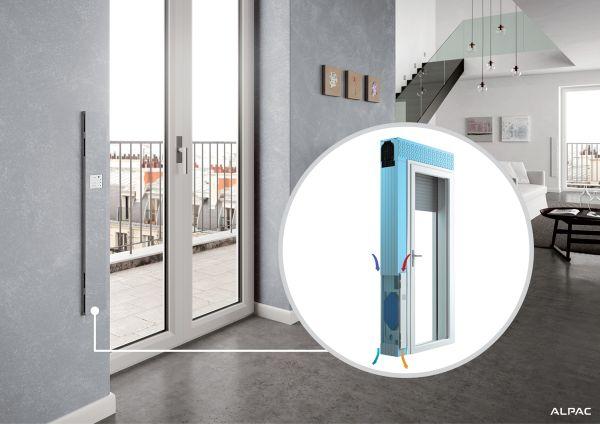 Monoblocco finestra INGENIUS VMC: migliora l'aria e aumenta il benessere