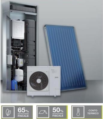 Riscaldamento, raffrescamento e acqua calda in un unico sistema