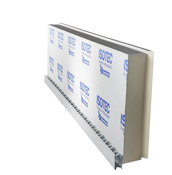 ISOTEC PARETE – Sistema termoisolante per facciate ventilate
