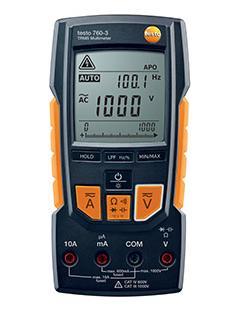TESTO 760-3 multimetro digitale fino a 1.000 V