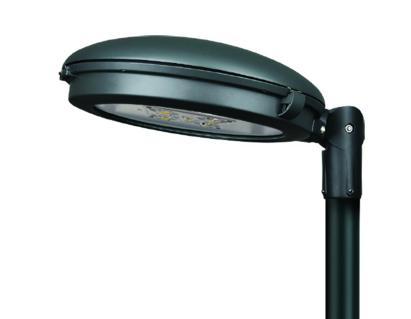 Nuova generazione di apparecchi a LED per l'arredo urbano
