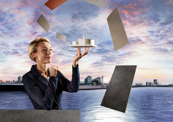 Soluzione efficiente per la progettazione di facciate con effetto simil pietra