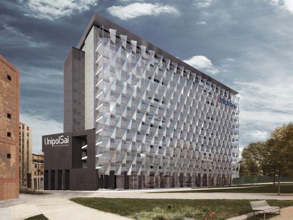 Facciata dinamica e massima efficienza energetica per la nuova sede Unipol firmata da Progetto CMR
