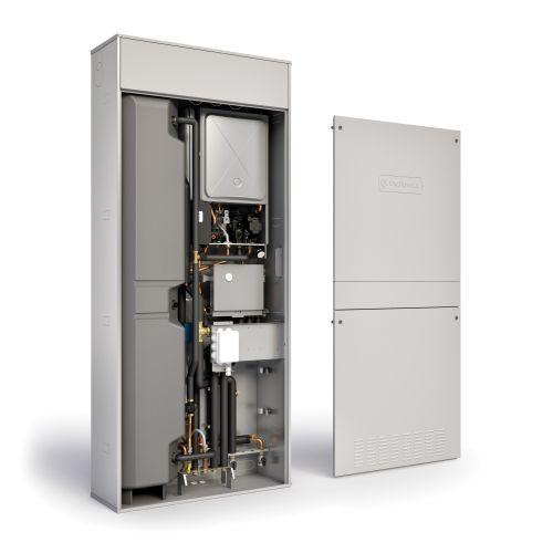 Massima efficienza energetica con il sistema ibrido a incasso
