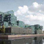 Scuola Internazionale di Copenhagen con la più grande facciata solare del mondo