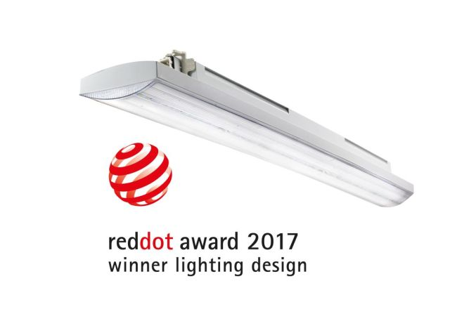 Illuminazione elegante ed efficiente premiata con il Red Dot Award