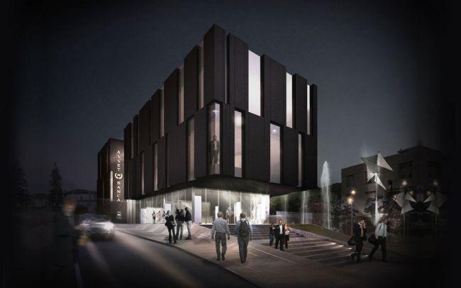 Architettura innovativa per un edificio Nearly Zero Energy, nuova sede Asset Banca di san marino