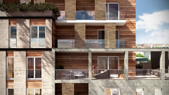 Pomaseiuno, una casa ecosostenibile nel centro di Milano