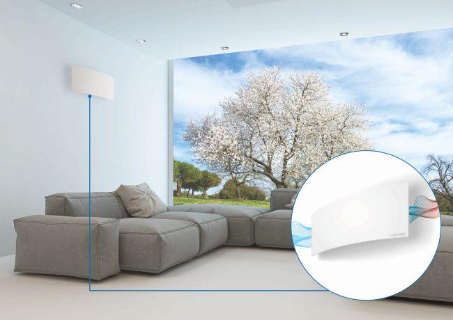 Sistema di filtraggio dell'aria per la massima salubrità