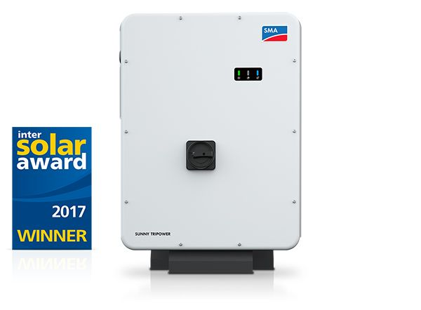 Sunny Tripower Core1 di SMA vincitore dell'Intersolar Award 2017