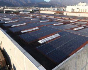 Tegola fotovoltaica brevettata Tegosolar