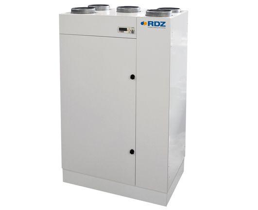 Unit Comfort UC 500-MVHE di RDZ per il rinnovo aria con recupero di calore ad alta efficienza
