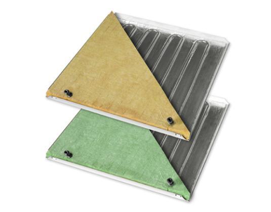 Pannello radiante a soffitto b!klimax+ Copper 8 per riscaldamento e raffrescamento