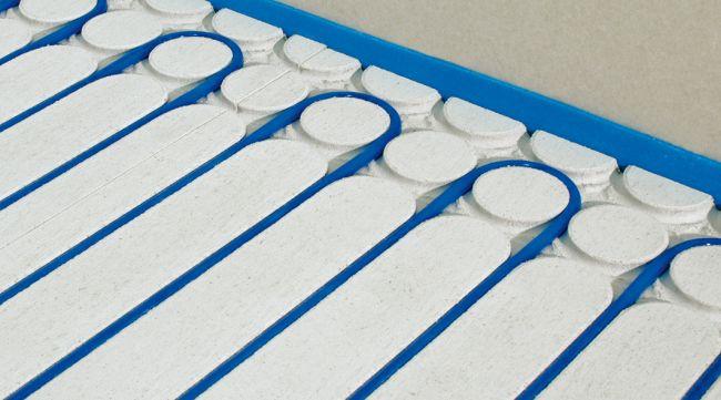 FIBER 18 è il sistema di riscaldamento e raffrescamento a pavimento di RDZ specifico per le ristrutturazioni