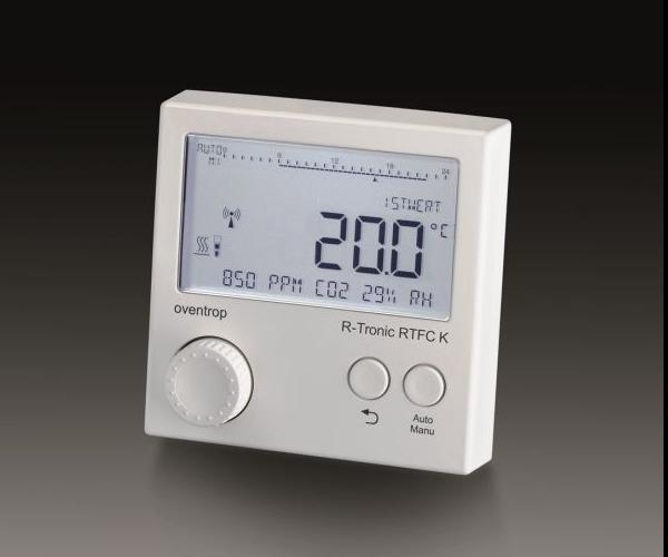 R-Tronic sistema termoregolazione Oventrop