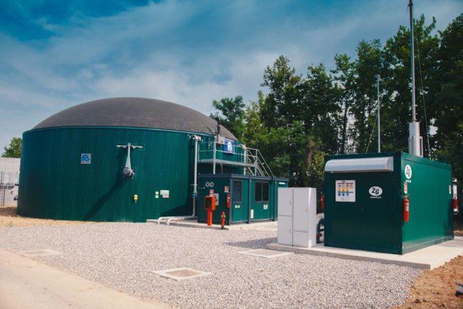 Impianto biogas per l'efficienza energetica di un'azienda agricola