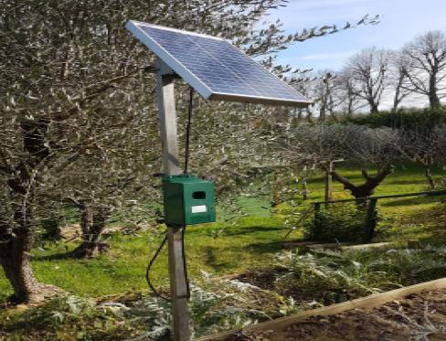 Fotovoltaico off-grid per proteggere le grandi superfici agricole
