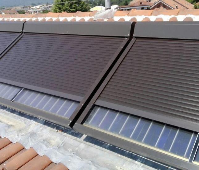 Pannelli più protetti con la tapparella solare